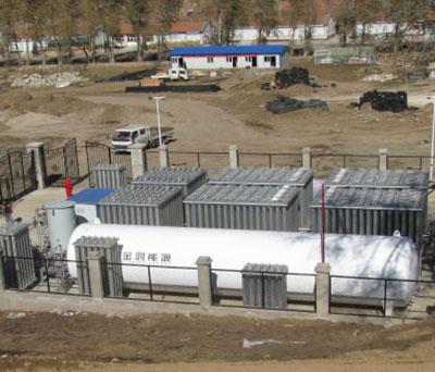 模块化LNG供气站